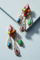 Shourouk Neon Moon Drop Earrings
