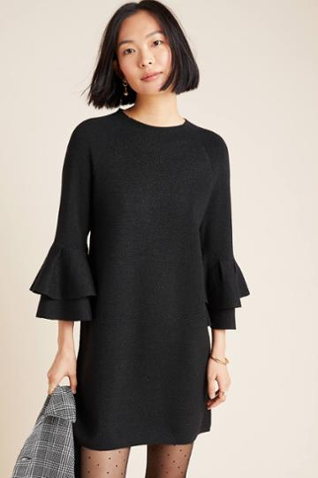 Anthropologie Claudette Ruffled Tunic