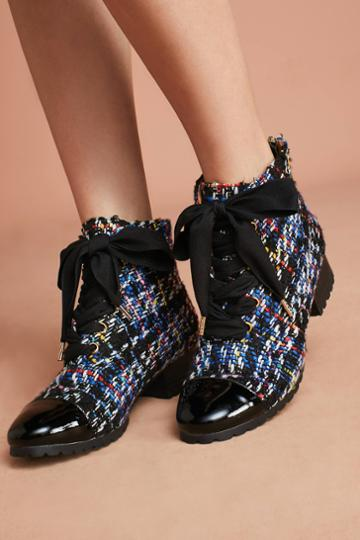 F-troupe Tweed Hiker Boots