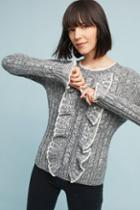 Eri + Ali Preston Ruffled Sweater