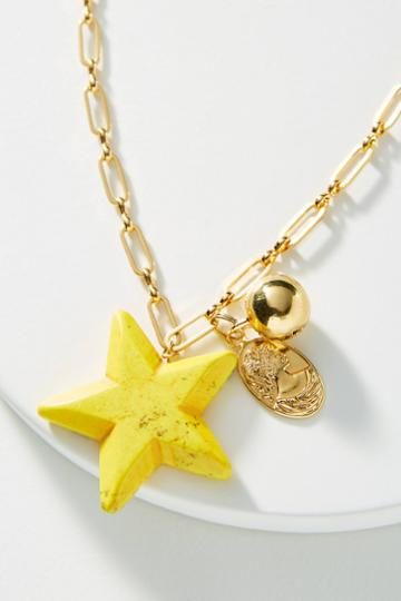Timeless Pearly Star Pendant Necklace