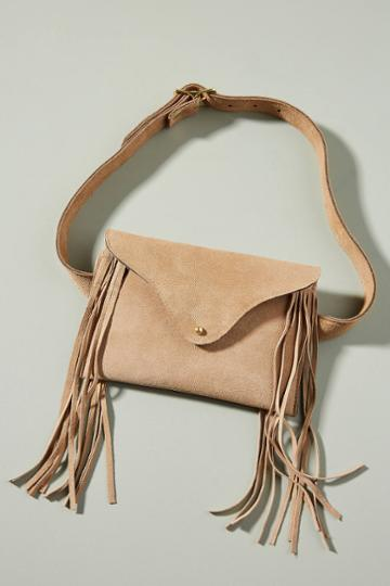 Jj Winters Frankie Suede Belt Bag