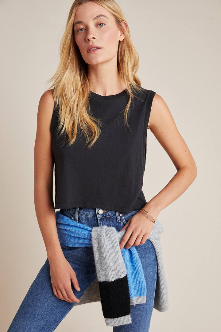 Agolde Vail Cropped Tank