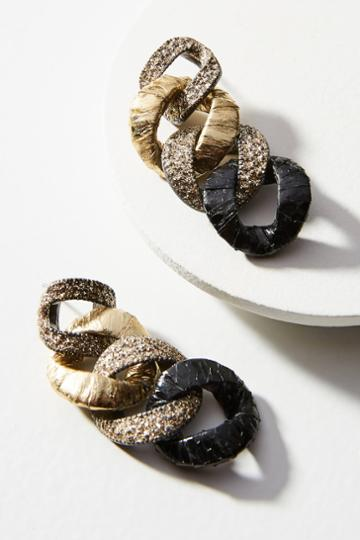Kmo Paris Reya Link Drop Earrings