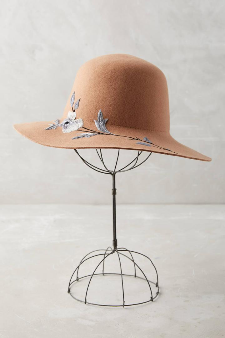 Anthropologie Flory Wool Rancher