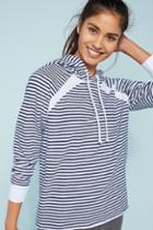 Stateside Striped Hooded Pullover