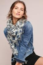 Chan Luu Floral Cashmere Scarf