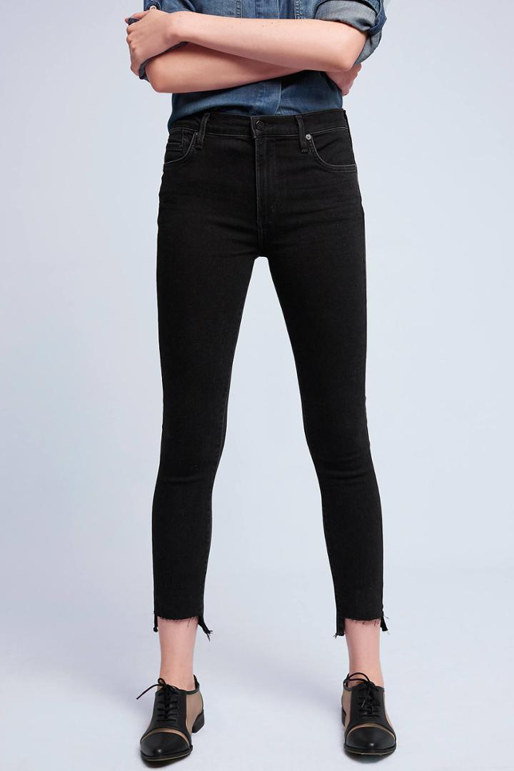 Citizens Of Humanity Rocket High-rise High-low Jeans