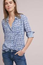 Cloth & Stone Brushstroke Plaid Buttondown