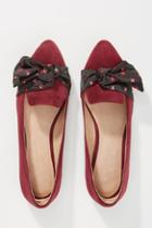 Anthropologie Kerchief Bow Flats