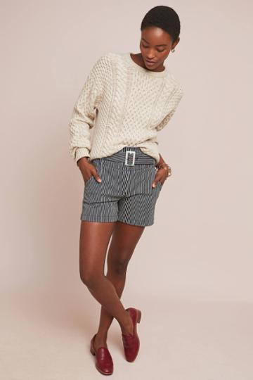 Ett:twa Railroad Striped Shorts