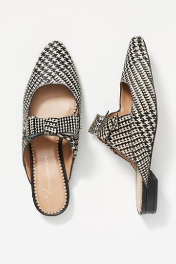 Anthropologie Laurie Bow Slides