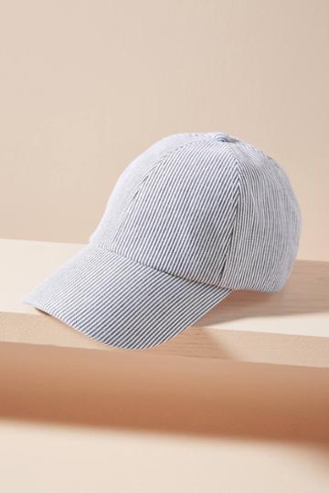 Wyeth Striped Baseball Cap