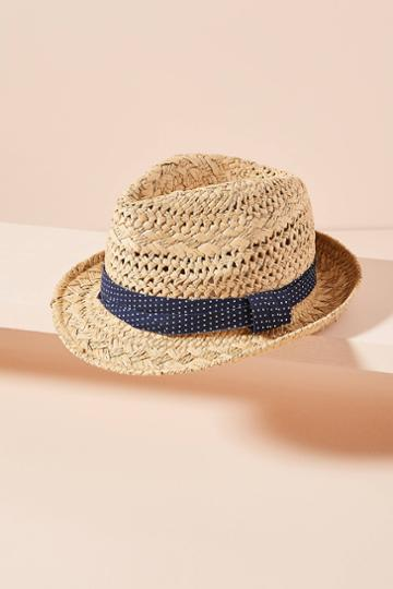 Anthropologie Kimberly Polka Dot Fedora
