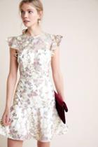 Ml Monique Lhuillier Estate Floral Dress