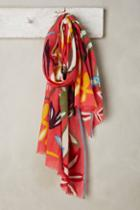 Epice Abstract Floral Scarf