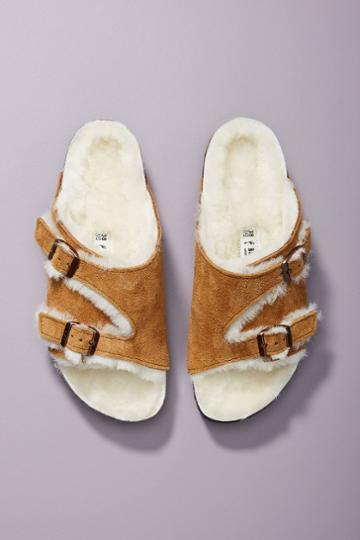 Birkenstock Zurich Shearling Sandals