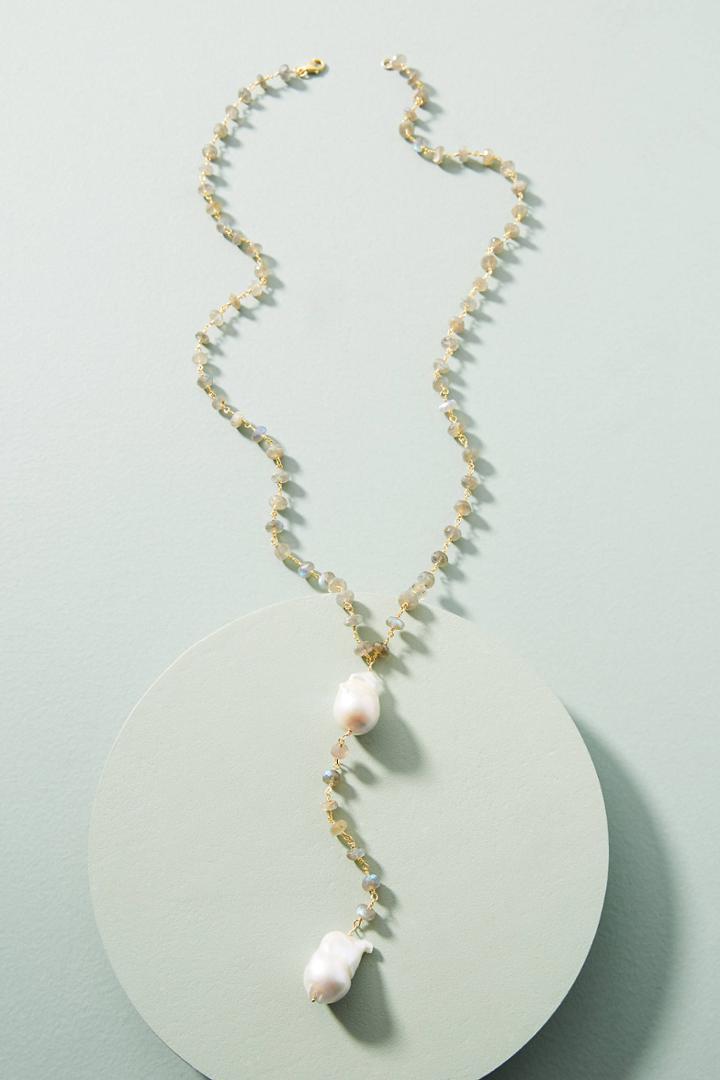 Jemma Sands Bora Bora Lariat Necklace