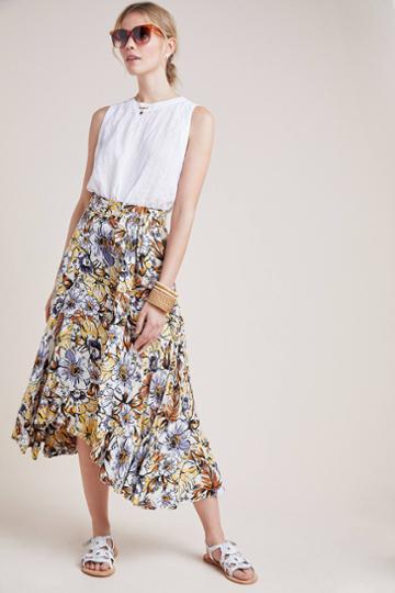 Faithfull Kamares Floral Skirt