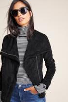Blanknyc Irina Sueded Moto Jacket