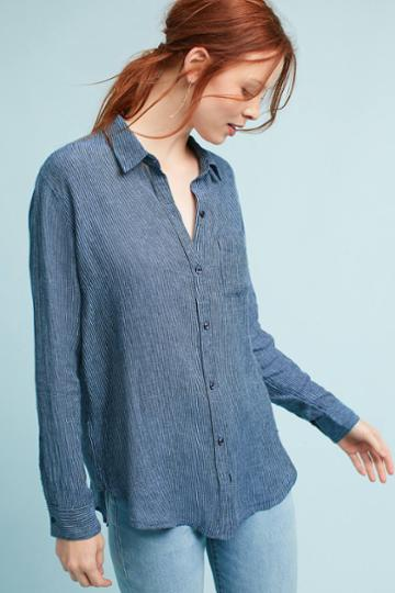 Rails Chambray Striped Buttondown