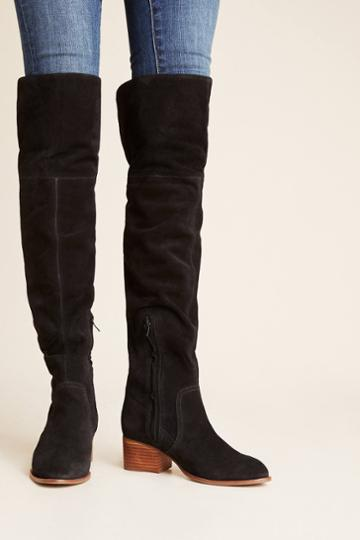 Lien.do By Seychelles Liendo By Seychelles Over-the-knee Suede Boots