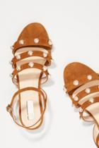 Elysess Pearled Strappy Sandals
