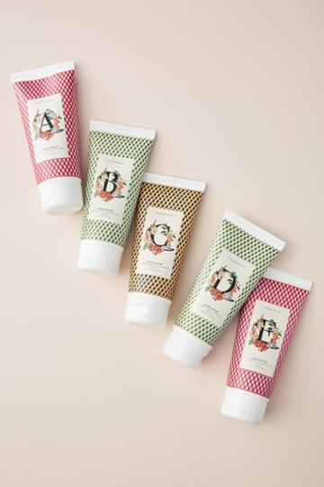 Anthropologie Holiday Monogram Hand Cream