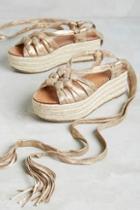 Sigerson Morrison Cosie Sandals Gold