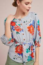 Maeve Lilorne Floral Buttondown