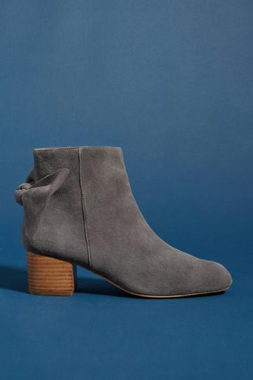 Anthropologie Bow-tied Boots