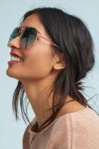 Anthropologie Carole Aviator Sunglasses
