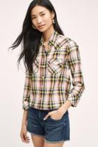 Mother Rosa Plaid Buttondown