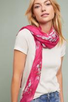 Anthropologie Everly Floral Scarf