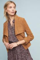 Bagatelle Draped Suede Jacket