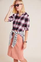Cloth & Stone Maggie Plaid Buttondown