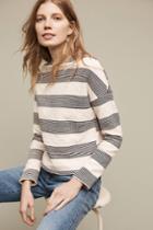 Eri + Ali Saborie Striped Sweatshirt