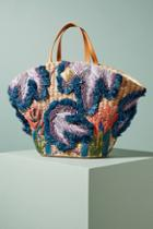 Aranaz Jardin Embroidered Tote Bag