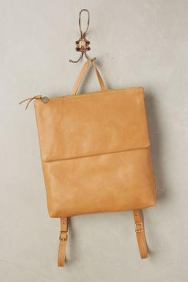 Clare V Agnes Backpack Honey