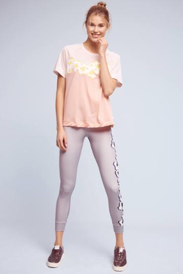 Adidas By Stella Mccartney Flower Yoga Leggings