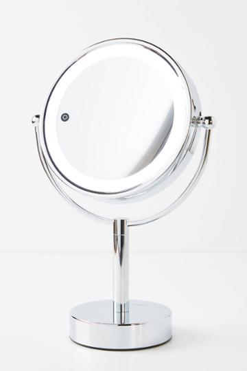 Vanity Planet Gleam Dual-sided Magnifying Mirror