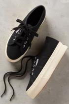 Superga Platform Sneakers Black