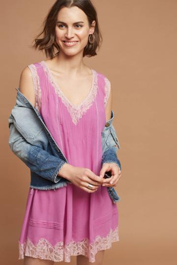 Love Sam Fuschia Slip Dress