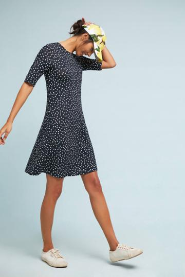 Three Dots Seraphina Polka Dot Dress