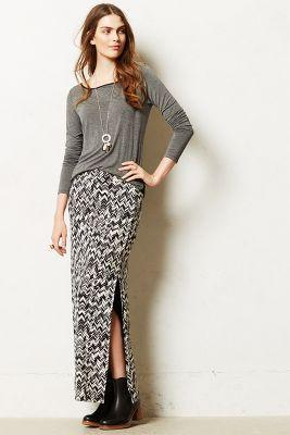 Anthropologie Capella Maxi Skirt