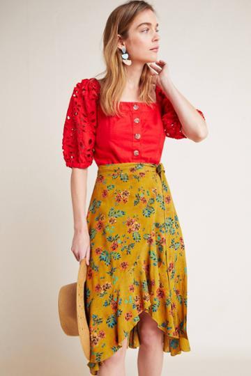 Faithfull Tramonti Wrap Skirt