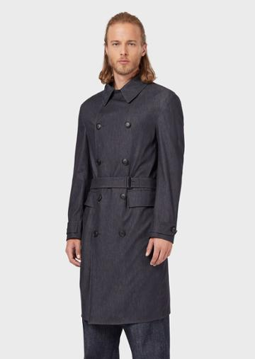 Emporio Armani Trench Coats - Item 41888716