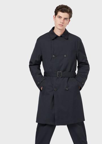 Emporio Armani Trench Coats - Item 41916612