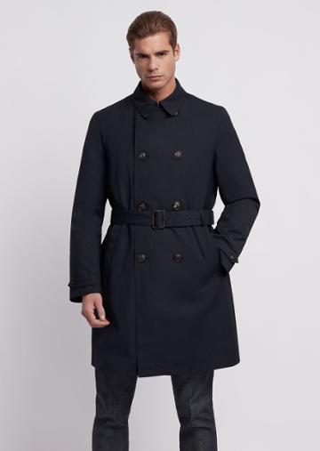 Emporio Armani Trench Coats - Item 41864602