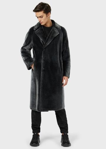 Emporio Armani Leather Outerwear - Item 59141995